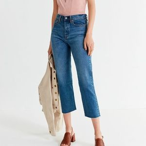 Levi's Wedgie Straight Jeans in Love Triangle